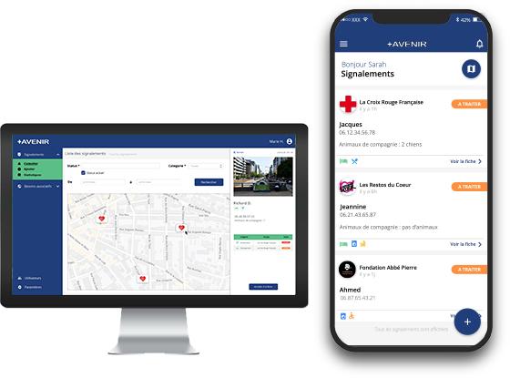 Visuel des applications +Avenir Connect